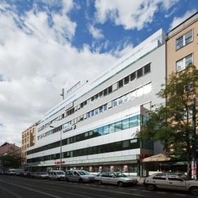 Rubín Office Center, Praha 8 Karlín, Sokolovská 79