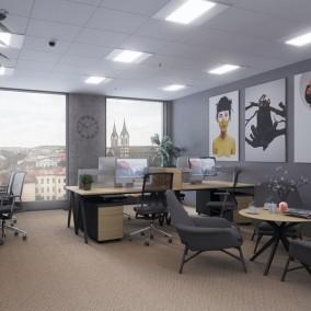 Office Centrum Praga Studios, Praha 8 Karlín, Pernerova 35
