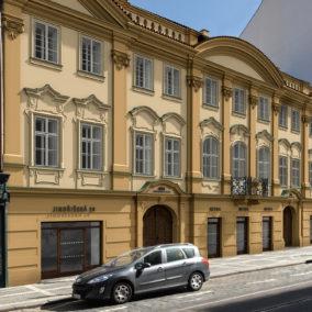 Harrachovský palác, Praha 1 Nové Město, Jindřišská 20